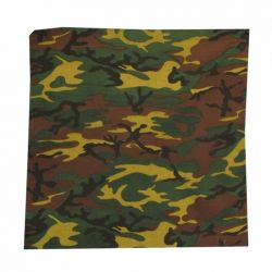 Bandana>Army Fatigue Grn Brn