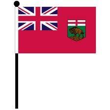 """12""""x18"""" Flag>Manitoba"""