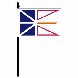 "12""x18"" Flag>Newfoundland"