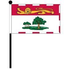 """12""""x18"""" Flag>PEI"""