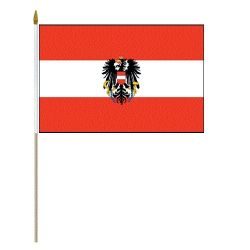 """12""""x18"""" Flag>Austria Eagle"""
