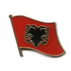 Flag Pin>Albania