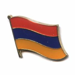 Flag Pin>Armenia