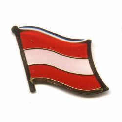 Flag Pin>Austria/Eagle