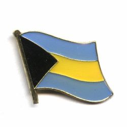 Flag Pin>Bahamas