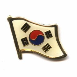 Flag Pin> South Korea