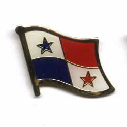 Flag Pin>Panama
