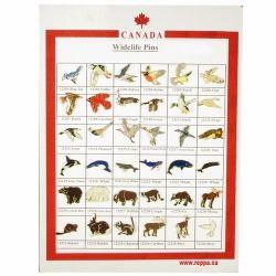 CDA Pin Card>Wildlife Set