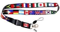 Lanyard>International Multi Flags