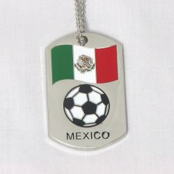 Dog Tag Metal>Mexico