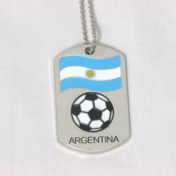 Dog Tag Metal>Argentina