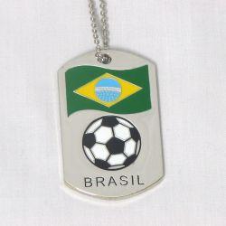 Dog Tag Metal>Brazil