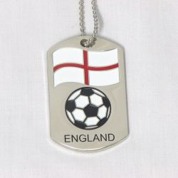 Dog Tag Metal>England
