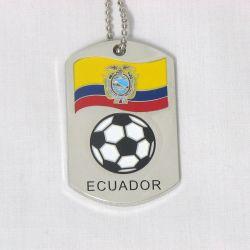 Dog Tag Metal>Ecuador
