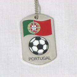Dog Tag Metal>Portugal