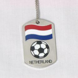 Dog Tag Metal>Netherlands