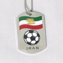 Dog Tag Metal>Iran Lion