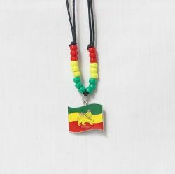 Necklace Lg>Ethiopia Lion