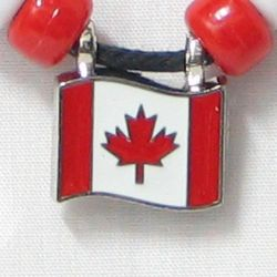 CDA Pendant>Canada flag