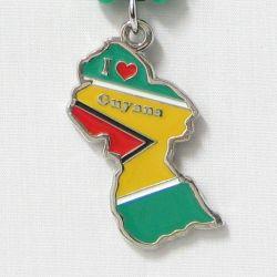 Pendant Map>Guyana