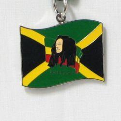Pendant Lg>Bob Marley Jamaica