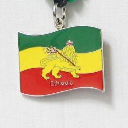Pendant Lg>Ethiopia Lion