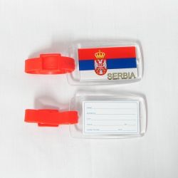 Luggage Tag>Serbia
