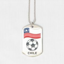 Dog Tag Metal>Chile