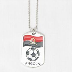 Dog Tag Metal>Angola