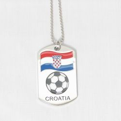 Dog Tag Metal>Croatia
