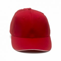 Cap Plain>Red