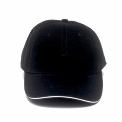 Cap Plain>Black