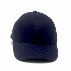 Cap Plain>Navy blue