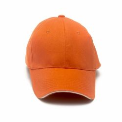 Cap Plain>Orange