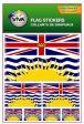 Flag Sticker>British Columbia
