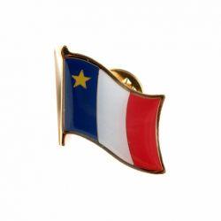 Flag Pin>Acadia