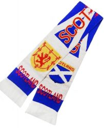 Scarf Knitted>Scotland