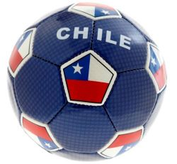 Soccer Ball >Chile Blue #5 Pro