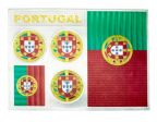 Metallic Sticker>Portugal