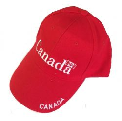 CDA Cap Red>Canada Logo