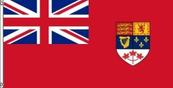 3'x5'>CDA Red Ensign