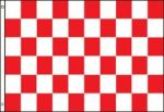 3'x5'>Checkered Red