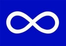 3'x5'Flag>Metis Blue