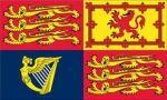 3'x5'>United kingdom Royal Standard