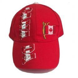 CDA Cap>Canada Red 3D Emb.