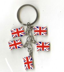 Charm Keychain>United kingdom