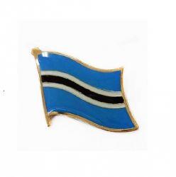 Flag pin>Botswana