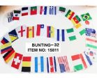 "Bunting Int'l>32 Flags of 12""x18"""