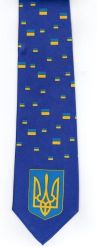Ties>Ukraine Flag Necktie