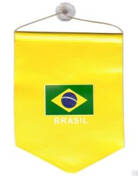 Mini Banner Shield> Brazil